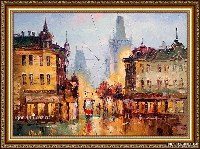 Bildergebnis für Прага картины